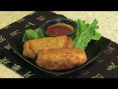 ▶ How to Make Authentic Chinese Egg Rolls : Chinese Food at Home - YouTube