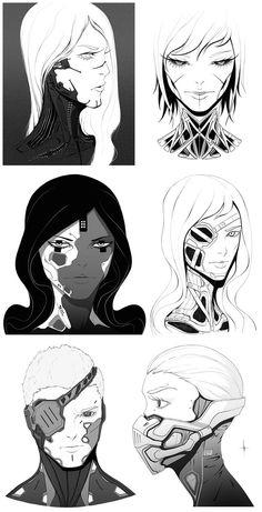 Faces 003 by AdrianDadich on DeviantArt
