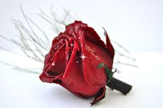 2 carats of real diamonds on real roses http://www.ajediam.com/gift_baskets_diamonds.html