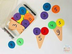 Using Math Games to Enhance Learning Math For Kids, Fun Math, Math Games, Preschool Activities, Preschool Learning, Kindergarten Math, Teaching, 1st Grade Math, Math Classroom