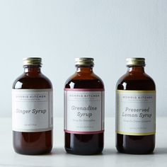 Cocktail Syrups Holiday Gift on Food52
