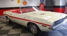 A rare 1970 A66 340 Challenger Convertible