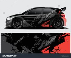 Find Rally Car Decal Graphic Wrap Vector stock images in HD and millions of other royalty-free stock photos, illustrations and vectors in the Shutterstock collection. Vw Lupo Gti, Car Decals, Vinyl Decals, Joker Drawings, Kia Rio, Sign Writing, Wheels And Tires, Rally Car, Car Wrap