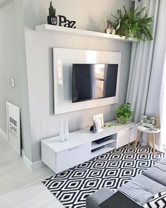 Classy Living Room, Living Room Decor Cozy, Home Living Room, Small Apartment Living, Small Apartment Decorating, Small Living Rooms, Living Room Modern, Living Room Tv Unit Designs, Home Room Design