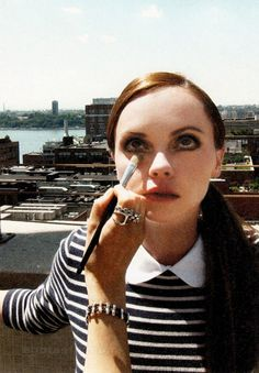 Christina Ricci... always looking fabulous! a great look...