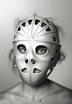 richard burbridge mask photography for livraison magazine