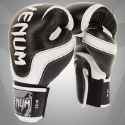 """ABSOLUTE 2.0"" BOXING GLOVES - BLACK/WHITE - NAPPA LEATHER"