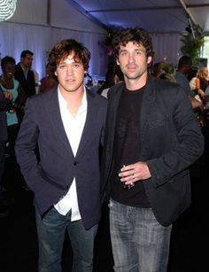 Patrick Dempsey, T.R. Knight, love their long hair