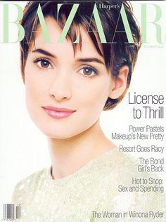 Winona Ryder BAZAAR Magazine