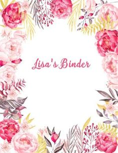 really cute free binder covers
