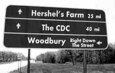 The Walking Dead...the funny thing is I've actually been to Woodbury (aka Senoia GA) :D