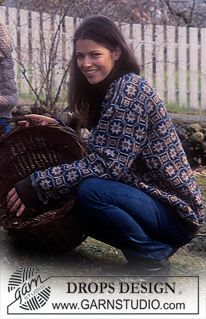Nordic - Free knitting patterns and crochet patterns by DROPS Design Drops Design, Sweater Knitting Patterns, Knit Patterns, Fair Isle Knitting, Free Knitting, Magazine Drops, Drops Patterns, Fair Isle Pattern, Jumpers For Women