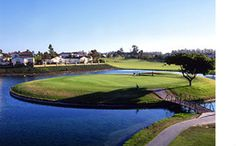 Visit the River Ridge Golf club located at 2401 W. Vineyard Ave. in Oxnard and get kissed by the warm California sun as you play.  This course is known for its wide-open fairways, low lying roughs, superb bent/poa annua greens and 5 lakes spanning the back 9 holes. Vacation Resorts, Vacation Rentals, Nipomo California, Ventura County, Central Coast, Lakes, Golf Courses, Vineyard, Things To Do