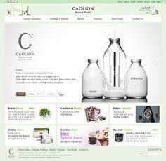 CAOLION 홈페이지 디자인
