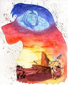 My first Disney Watercolor Illustration And it turned out so beautiful Maybe will do more in the future featuring Disney movies Art © Watercolor -- Lion King Lion King Fan Art, Lion King Movie, Lion King Simba, Disney Lion King, Cute Disney Wallpaper, Cute Cartoon Wallpapers, Disney Fan Art, Images Roi Lion, Disney Tapete