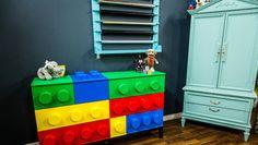 DIY Lego Inspired Dresser
