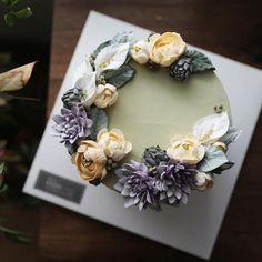 새벽녘엔 이도스튜디오도 영상 20도까지...🌿 Buttercreamflowers by EEDO.. #flowercake #flowerclass…