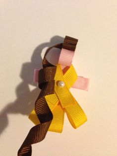 Belle princess inspired hair clip Belle by DixieDooDadsBrieBows, $5.00