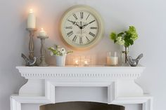 elegant mantel pieces - Google Search