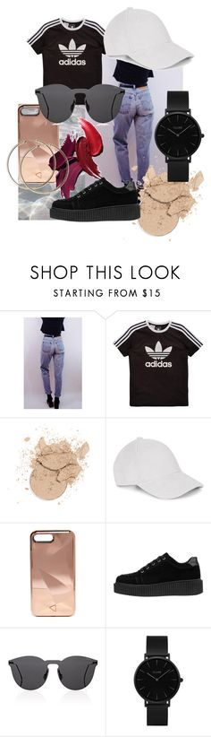 """basicc"" by tiri98 ❤ liked on Polyvore featuring Levi's, adidas Originals, Le Amonie, Rebecca Minkoff, Illesteva, CLUSE, chic, sporty and sneakers"