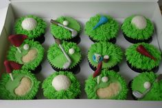 golf cupcakes ideas - Bing Images