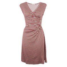 Savis Fu Red von KD Klaus Dilkrath #kd #dilkrath #kd12 #klausdilkrath #outfit #dress #savis #kleid #fu #red #pattern #office #look #pretty #summer