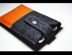 Iphone case 100% merino wool felt. $35,00, via Etsy.