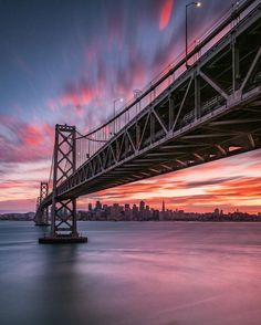Beautiful San Francisco sunset by BruceGetty #sanfrancisco #sf