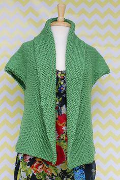 Sprout Cardigan Free Knitting Pattern