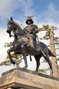 Date Masamune #Samurai Statue