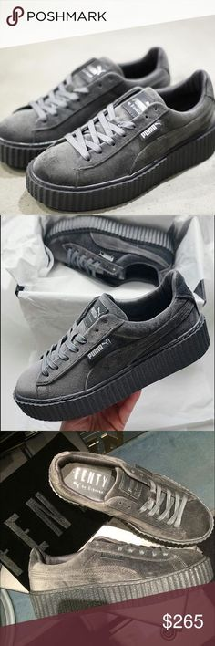 671826ded247 7 Best Puma by Rihanna Suede Creeper images