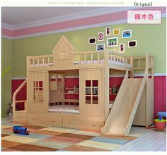 Youngsters Bedroom Furnishings – Bunk Beds for Kids Safe Bunk Beds, Bunk Beds For Girls Room, Kid Beds, Kids Bedroom, Kids Rooms, Wood Bunk Bed With Stairs, Wood Bunk Beds, Modern Bunk Beds, Bed Stairs