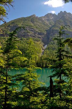 Avalanche Lake, Glacier National Park, Montana; photo by Martha T
