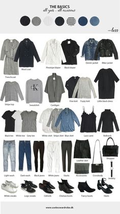 Awesome Autumn Capsule Wardrobe for Basic minimal pieces that work for women of all sizes. # Awesome Autumn Capsule Wardrobe for Basic minimal pieces that work for women of all sizes. Capsule Outfits, Fall Capsule Wardrobe, Fashion Capsule, Mode Outfits, New Wardrobe, Fashion Outfits, Womens Fashion, Wardrobe Basics, Closet Basics