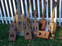 Make inexpensive ukeleles using recycled wooden boxes. I 12 Sweet DIY Instruments For Cash-Strapped Musicians
