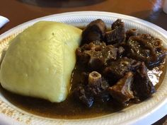 Marie's African Cuisine Oxtail