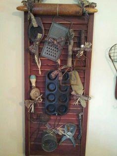 Kitchen shutter