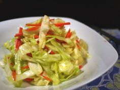 Taiwanese Pickled Cabbage Recipe - Quick n Easy! - Easy Chinese Recipes