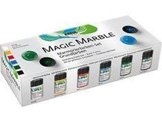Festék készlet Hobby Line - Magic Marble
