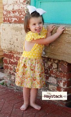 Girls Pinafore Dress (2 styles)