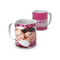 Caneca Amor para casais apaixonados. Mug love for loving couples.