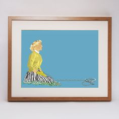 'Beartrap' Twisted Fifties Art Print