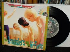 "The Smugglers & The Hi-Fives ""Summer Games"" 1996 Lookout Records (vinyl record 7"" split EP)"