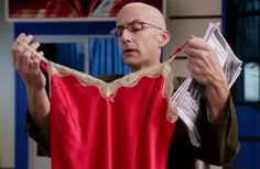 "Dean Pelton said""This better not awaken anything in me"" after picking up Shirley's discarded lingerie. He also said it in Environmental Science after viewing a Dalmatian video online. My Community, Community College, Environmental Science, Awakening, Dean, Dalmatian, The Originals, People, Gifs"