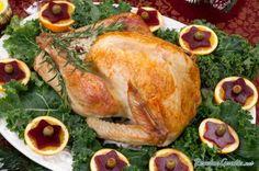Pavo relleno con arroz salvaje #Navidad #RecetasparaNavidad #RecetasNavideñas #CenadeNavidad #CenadeNocheVieja #CenadeNocheBuena #PavoRelleno