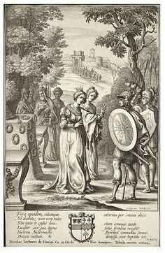 Wenceslas Hollar - Aeneas meets Andromache