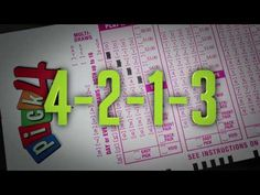 Learn How To Play Pick 4 - YouTube