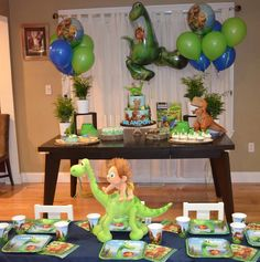 The Good Dinosaur Birthday Party