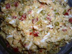Potato Salad, Grains, Rice, Potatoes, Meat, Chicken, Vegetables, Ethnic Recipes, Foods