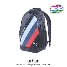 Mochila BMW Motorsport Adidas, Nike, Sling Backpack, Bmw, Backpacks, Urban, Fashion, Over Knee Socks, Moda